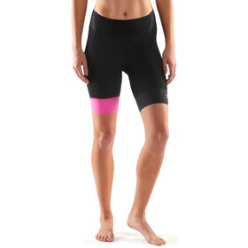 Skins Cycle DNAmic 1/2 Tights Women black/magenta
